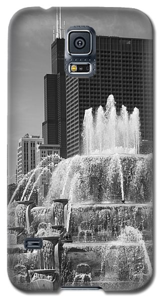 Chicago Skyline And Buckingham Fountain Galaxy S5 Case