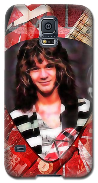 Van Halen Galaxy S5 Case - Eddie Van Halen Art by Marvin Blaine