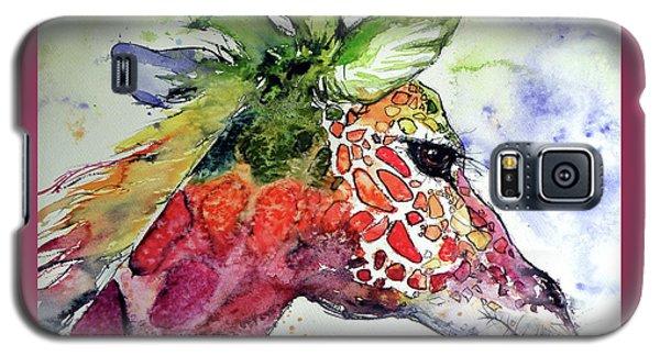 Giraffe  Galaxy S5 Case by Kovacs Anna Brigitta