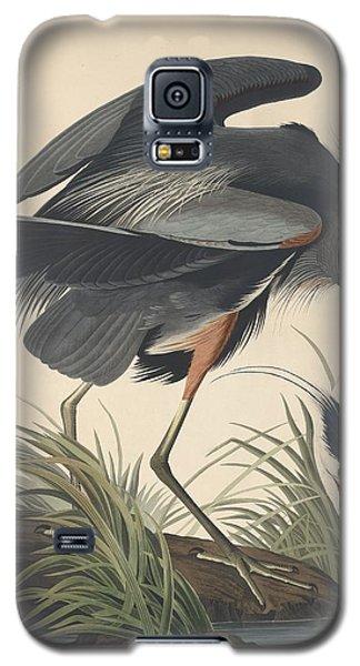 Great Blue Heron Galaxy S5 Case by Rob Dreyer