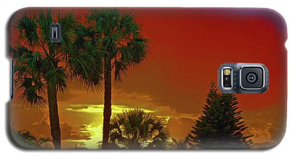 Galaxy S5 Case featuring the digital art 7- Holiday by Joseph Keane