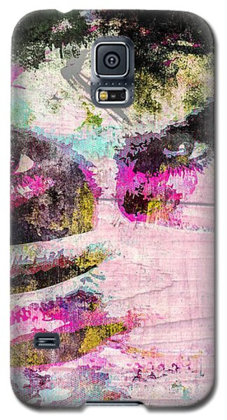 Galaxy S5 Case featuring the mixed media Ian Somerhalder by Svelby Art