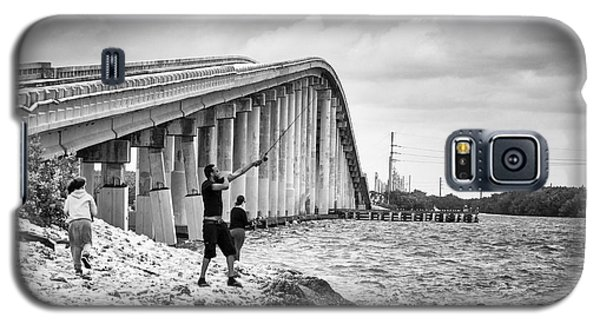 7 Mile Bridge B_w Galaxy S5 Case