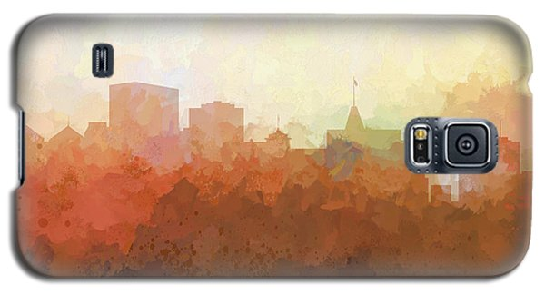 Galaxy S5 Case featuring the digital art Oakland California Skyline by Marlene Watson