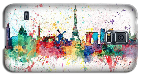 Paris France Skyline Galaxy S5 Case