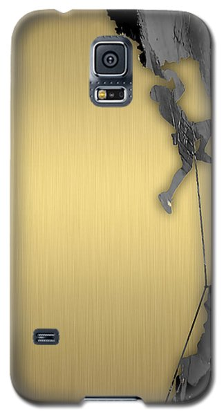 Rock Climber Collection Galaxy S5 Case by Marvin Blaine