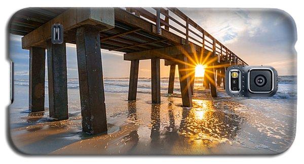 Sunset Naples Pier, Florida Galaxy S5 Case