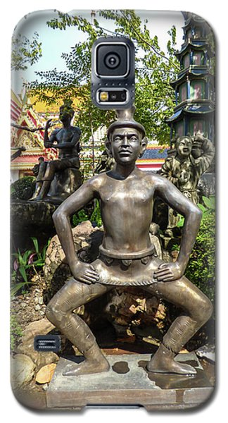 Thai Yoga Statue At Famous Wat Pho Temple Galaxy S5 Case