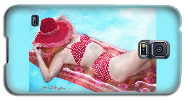 Vintage Val Poolside Galaxy S5 Case