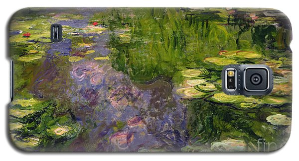 Waterlilies Galaxy S5 Case by Claude Monet
