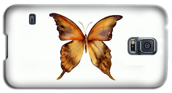 7 Yellow Gorgon Butterfly Galaxy S5 Case by Amy Kirkpatrick