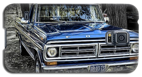 Galaxy S5 Case featuring the photograph 73 Ford Pickup by Brad Allen Fine Art