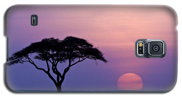 African Sunrise Galaxy S5 Case