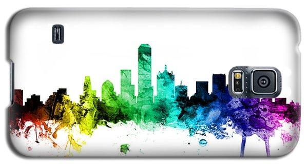 Dallas Texas Skyline Galaxy S5 Case