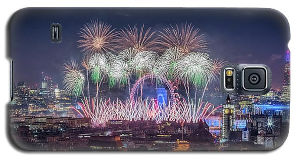 Happy New Year London Galaxy S5 Case