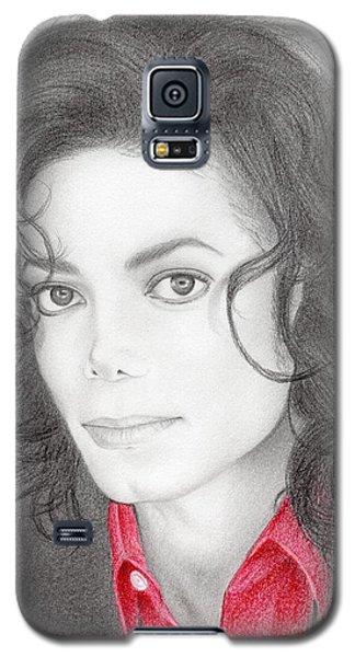 Michael Jackson #two Galaxy S5 Case by Eliza Lo