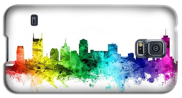 Nashville Tennessee Skyline Galaxy S5 Case by Michael Tompsett
