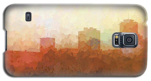Galaxy S5 Case featuring the digital art New Orleans Louisiana Skyline by Marlene Watson