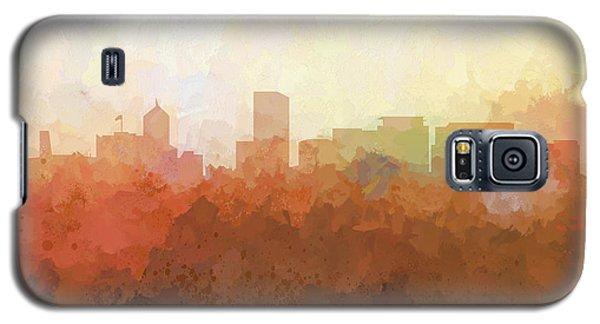 Galaxy S5 Case featuring the digital art Portland Oregon Skyline by Marlene Watson