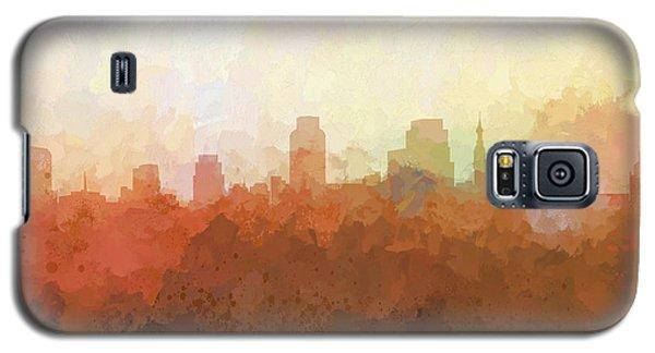 Galaxy S5 Case featuring the digital art Sacramento California Skyline by Marlene Watson
