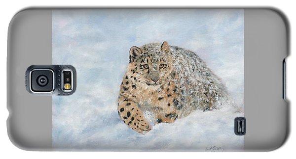 Snow Leopard Galaxy S5 Case
