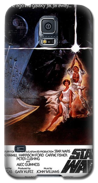 Star Wars Galaxy S5 Case - Star Wars Episode Iv - A New Hope 1977 by Geek N Rock