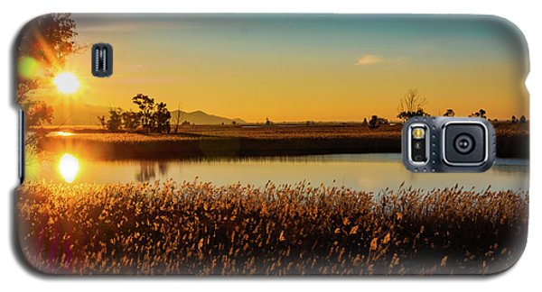 Sunrise In The Ditch Burlamacca Galaxy S5 Case