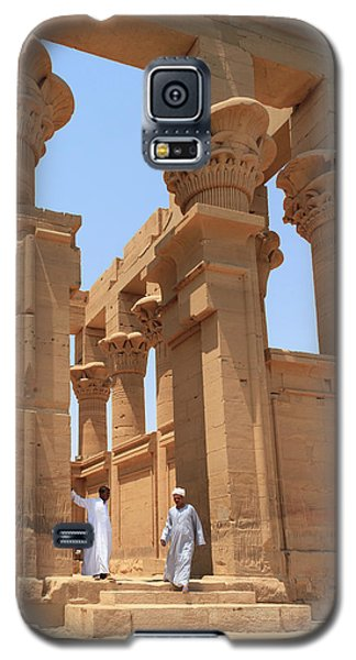 Temple Of Isis Galaxy S5 Case