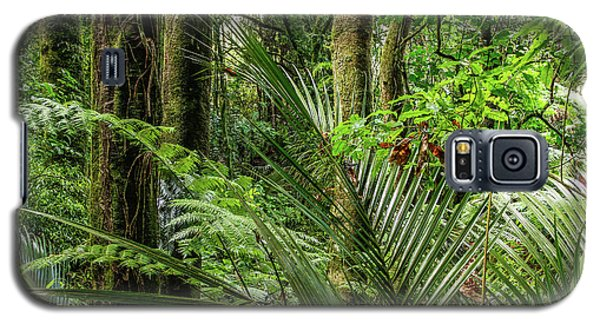 Galaxy S5 Case featuring the photograph Tropical Jungle by Les Cunliffe
