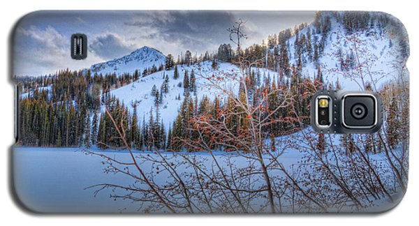 Wasatch Mountains In Winter Galaxy S5 Case by Utah Images