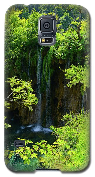 Waterfall In Plitvice National Park In Croatia Galaxy S5 Case
