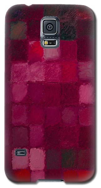 81 Color Fields - Madder Lake Galaxy S5 Case