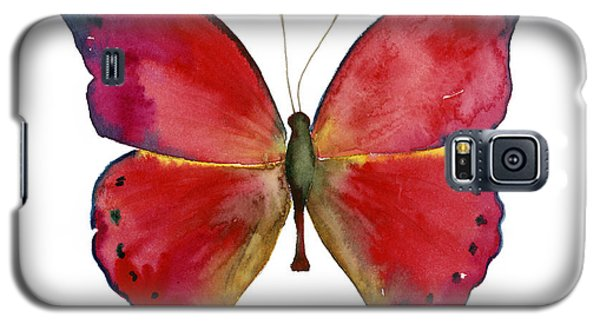 83 Red Glider Butterfly Galaxy S5 Case