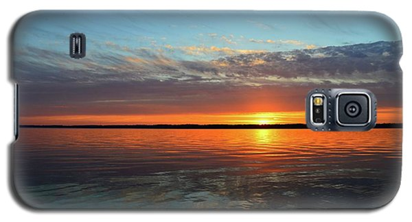 8.57 Pm June 8-2017  Galaxy S5 Case by Lyle Crump