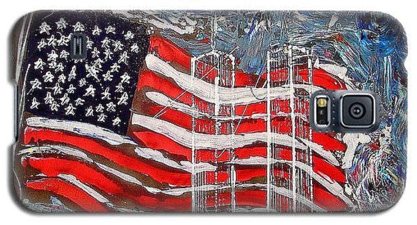 9/11 Tribute Galaxy S5 Case by J R Seymour