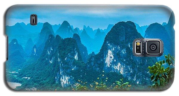 Karst Mountains Landscape Galaxy S5 Case