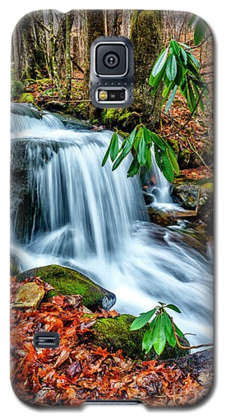 Galaxy S5 Case featuring the photograph Little Laurel Branch by Thomas R Fletcher