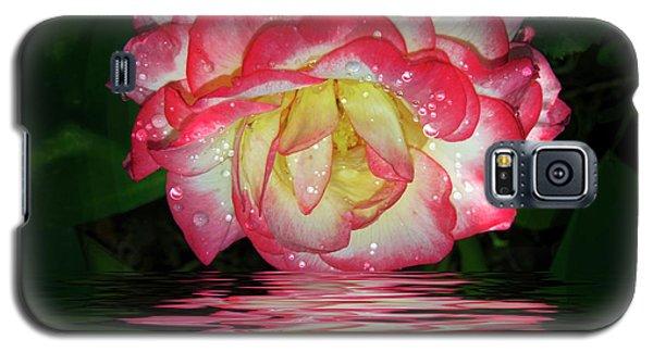 Nice Rose Galaxy S5 Case by Elvira Ladocki