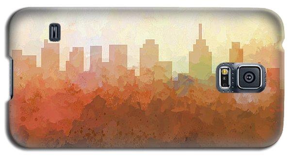 Galaxy S5 Case featuring the digital art Philadelphia Pennsylvania Skyline by Marlene Watson