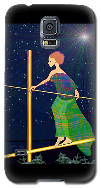 958  -   Balance   Galaxy S5 Case by Irmgard Schoendorf Welch
