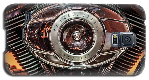 96 Cubic Inches Softail Galaxy S5 Case by Randy Scherkenbach