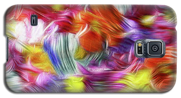 9a Abstract Expressionism Digital Painting Galaxy S5 Case