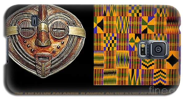 A  African Proverb Galaxy S5 Case by Jacqueline Lloyd