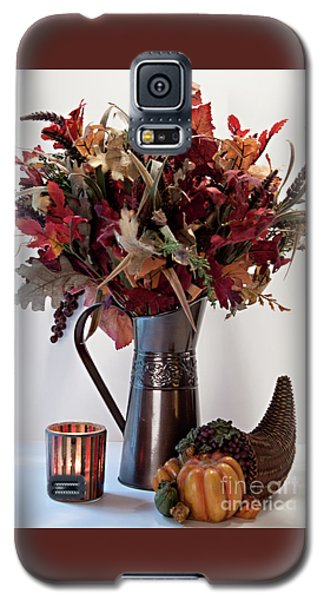 A Autumn Day Galaxy S5 Case by Sherry Hallemeier