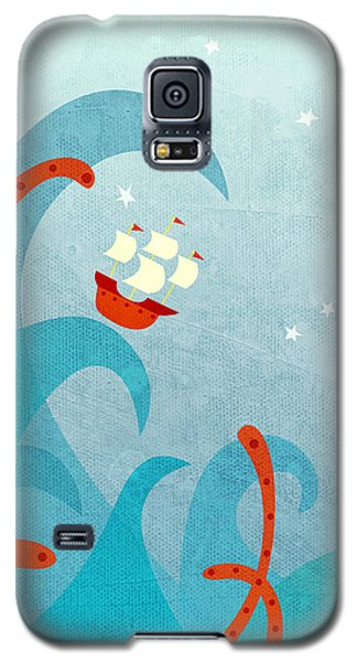 Boat Galaxy S5 Case - A Bad Day For Sailors by Nic Squirrell