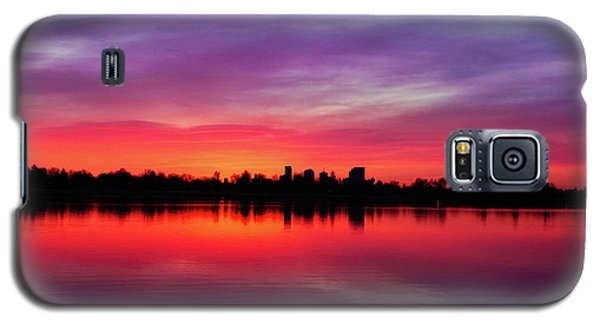 Sunrise At Sloan's Lake Galaxy S5 Case