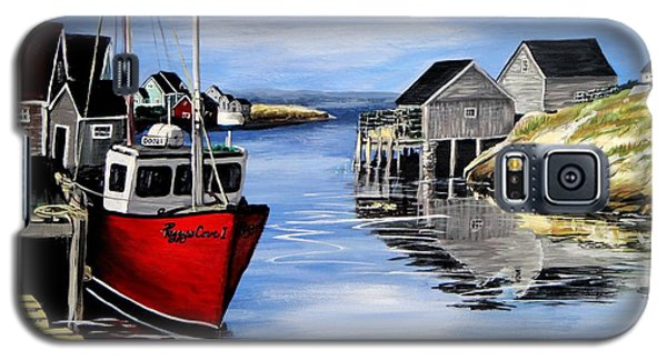 A Beautiful Day At Peggy's Cove  Galaxy S5 Case by Patricia L Davidson