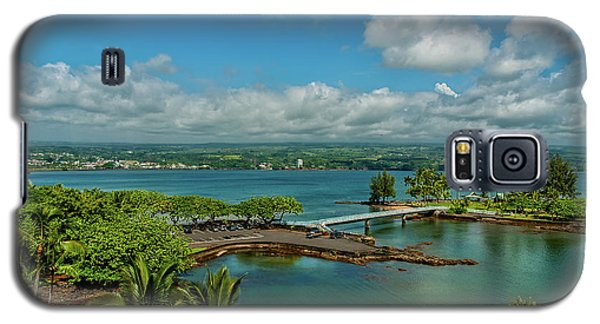 A Beautiful Day Over Hilo Bay Galaxy S5 Case