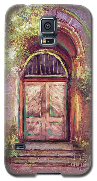 Galaxy S5 Case featuring the digital art A Beautiful Mystery by Lois Bryan