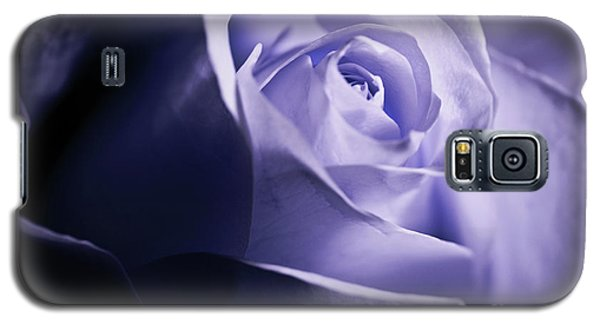 Galaxy S5 Case featuring the photograph A Beautiful Purple Rose by Micah May
